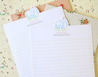 Recollection Elephant writing paper set