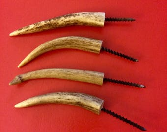 Deer Antler Gun Hooks