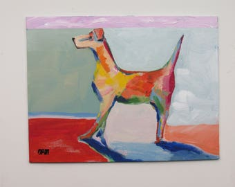 "painting - original - ""Matisse"" - original acrylic painting - home decor"