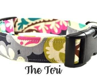 Floral Dog Collar - The Tori