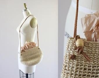 sisal market purse
