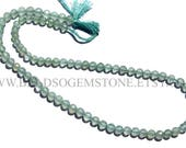 Gemstone Beads, Peruvian Chalcedony Faceted Round (Quality AAA) / 72 pieces / 4.5 to 5.5 mm / 36 cm / CHALCED-045