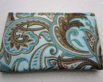 Paisley Credit Card Holder, Minimalist Wallet, Travel Wallet, Slim Wallet, Business Card Holder, Credit Card Wallet, Card Case, Vera Bradley