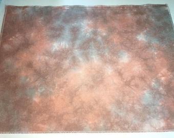 14ct aida Zweigart - 15.75x22.5 - Hand Dyed Cross Stitch Fabric