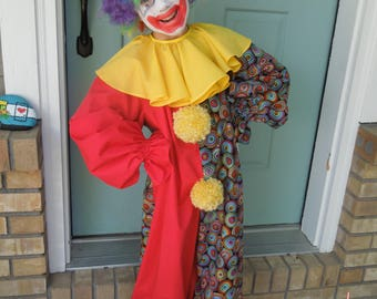 Clown Costume for sizes 7-8