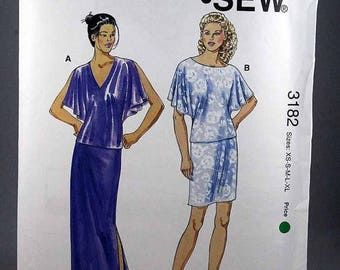 ON SALE Kwik Sew 3182, Misses' Tops and Skirts Sewing Pattern, Sewing Pattern, Misses' Patterns, Misses', Sizes XS, S, M, L, Xl, New and Uno