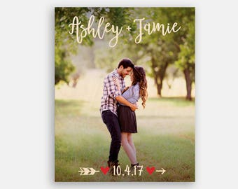 Engagement Photo Frame Anniversary Gifts for Women Anniversary Gifts for Men Anniversary Gifts for Boyfriend First Anniversary Gift for Him