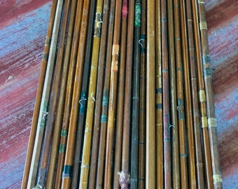 Vintage Bamboo Fly Rod Parts