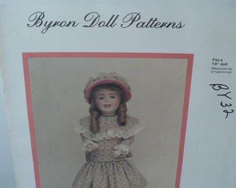 DIY Doll Sewing Pattern, Pattern Gift Doll Clothes, Byron Sonja Doll Pattern, Doll Dress Pattern, DIY Doll Dress