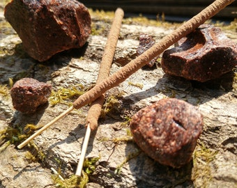 Dragonsblood Incense - All Natural Hand Rolled Incense Sticks - Real Dragons Blood Resin Incense