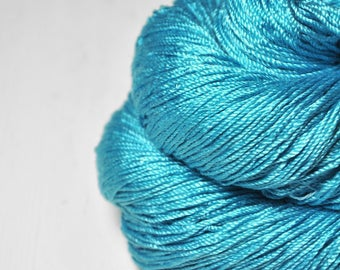 Angry water spirit -  Cordonnette Silk Fingering Yarn