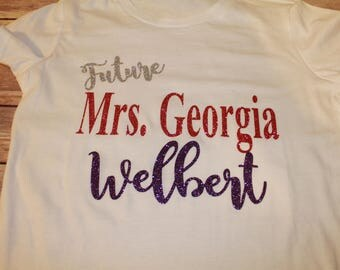 Future Wife Shirt, Future Mrs. Shirt, Bridal Party Shirt, Bride Shirt, Bride Tank, Mrs. Shirt, Mrs. Tank, Future Mrs. Tank, Bride Gift