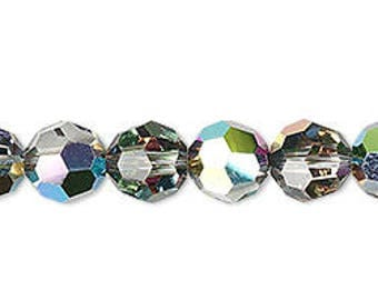 Swarovski Crystalized 5000, round vitrail, 5mm - #2270