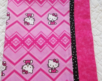 Hello Kitty Childrens or Travel  Pillow Case