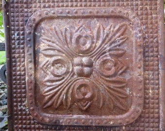 Magnificent 1 Ceramic Tile Big 1 Inch Ceramic Tiles Clean 18 Inch Ceramic Tile 2 X 6 White Subway Tile Young 24 X 48 Ceiling Tiles Drop Ceiling Dark2X4 Fiberglass Ceiling Tiles Rusty Tin Tile | Etsy