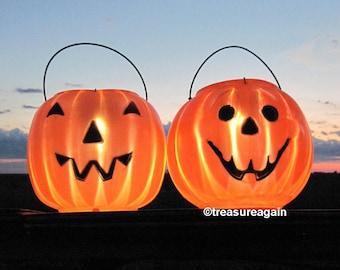 outdoor pumpkin halloween lights 2 faces pumpkin solar lights halloween lanterns halloween decor garden