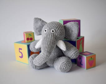 Bloomsbury elephant toy knitting patterns