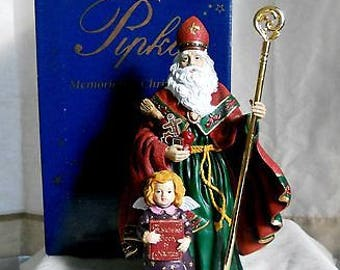 Pipka ST NICHOLAS 1997 limited edition memories of Christmas #1658 of 3600