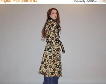 On SALE 40% Off - Vintage 1960s Tapestry Coat - Woven Tapestry Coats - 60s Coats  - W00214
