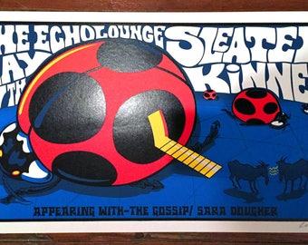 Sleater Kinney poster