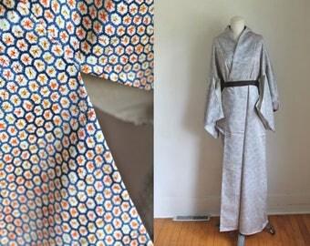 vintage silk kimono - KINGYO SUKUI kimono (deadstock)