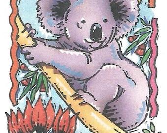 Vintage Australian Aerogramme - Koala - South Australia