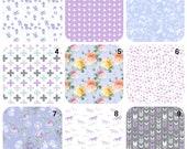 Crib sheet, Stokke Sheets, purple nursery bedding, Moses Basket, Halo Bassinet, UppaBaby, Baby Bjorn Cradle, Dock A Tot, fawn crib sheet,