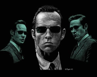 POSTER MATRIX Agent Smith