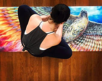 Phoenix Rising Eco Friendly Yoga Mat