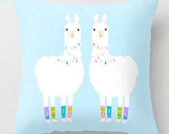 Llamas in Legwarmers #Pillow