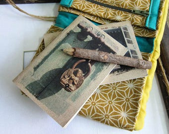 Small Gift for Traveler - Key Notebook 09. Mini Travel Journal - Key to Nirvana, Nepal - Small Pocket