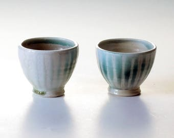 Two cup set, small cups, teacups