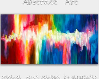 "Sale Original oil Painting Wall Art Abstract Painting 48"" Canvas  Wall Decor Original Modern Home Deco, Wall Hanging,  by Tim Lam"