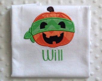 Personalized Super Hero Pumpkin, Toddler T Shirt