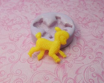 Lamb Mold, Silicone Mold, Clay Lamb Molds, Fondant Mold, Chocolate, Butter, Wax, Resin Molds, Soap, Easter Lamb Mold