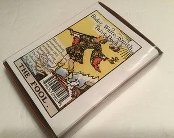"Rider Waite Smith Tarot Cards Deck 78 Cards X-Large  size deck 4"" x 5 3/4"""