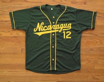 vintage Nicaragua baseball jersey