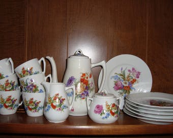 German children's tea set