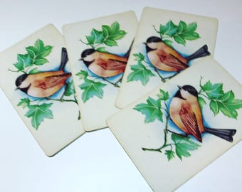 Vintage Bird Playing Cards