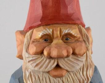 gnome, elf, nisse, lutin, Christmas, Santa, wood carving, Nordic, Scandinavian