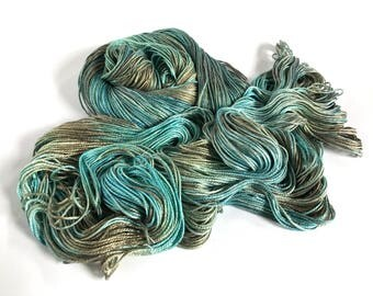 Silk / Bamboo Worsted. Coastal Vibe