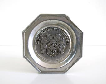 Pewter Lindenwood Colleges Tray by Wilton Co.