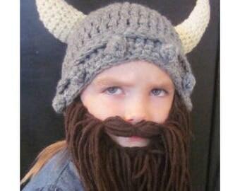 KIDS Viking Hat and Beard