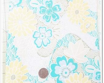 "1 yard + 12"" + Scrap Piece - Soliel 2010 Little House by Annette Tatum AT 43 Floral Garden Free Spirit Fabrics"