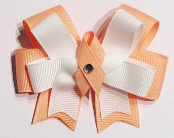 Uterine Cancer Awareness Hair Bow