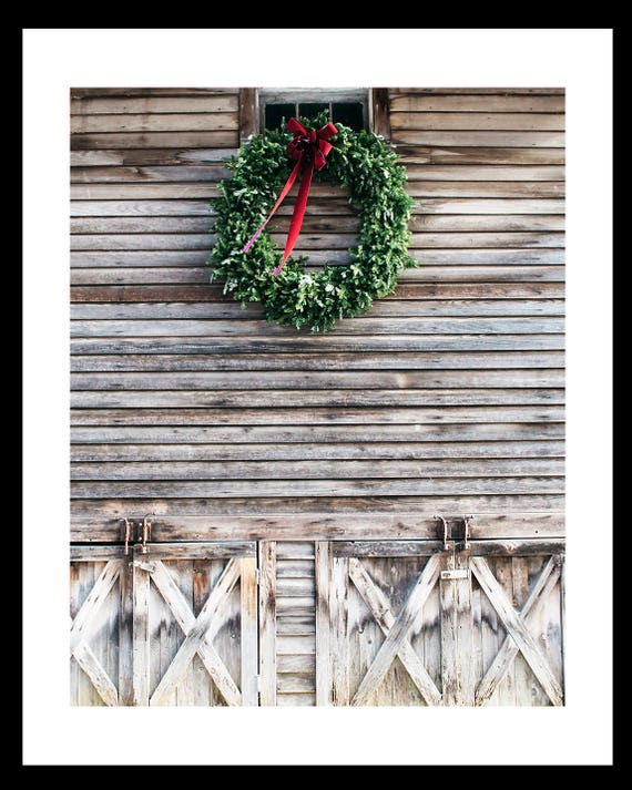 Cindy Taylor Fine art Photography Print, Snow Scene, Barn Photo, Winter Scene, Country Scene Photo, Christmas Art