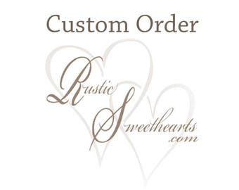 Custom order for nlhead13 ~~ 1 Large Bridal Bouquet, 7 Small Bridesmaid Bouquets, 5 Matching Purple Boutonnieres