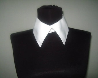 Ladies white collar