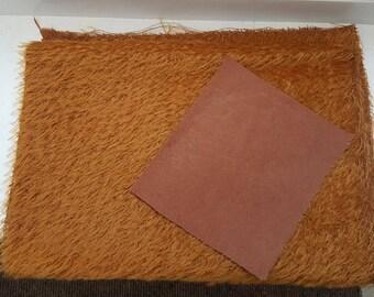 1/8 metre german sparse mohair & nice paw fabric
