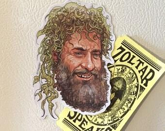 Bearded TOM HANKS Cast Away Fridge MAGNET!